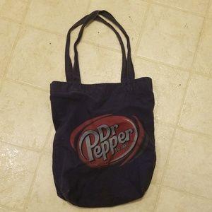 Vintage dr pepper bag